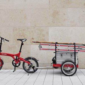 Hinterher cykeltrailer